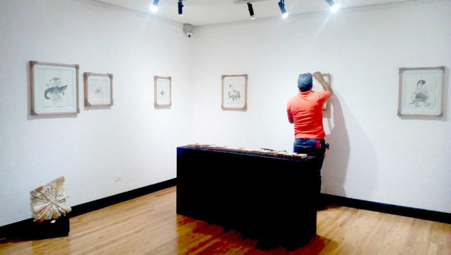 Exposición de Juan Ramón Meza en Galería El Attico   Marzo 2019