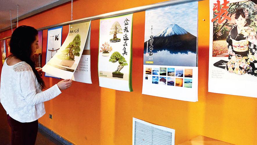 Exposición de calendarios japoneses en Guatemala | Marzo 2019
