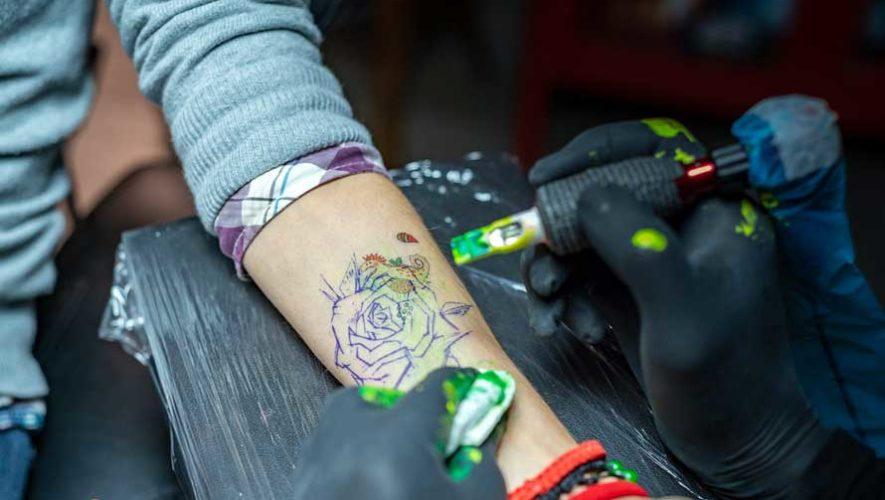 Festival benéfico de tatuajes pequeños en Zona 10 | Abril 2019