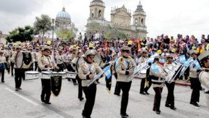 Festival de bandas escolares en la Ciudad de Guatemala | Marzo 2019