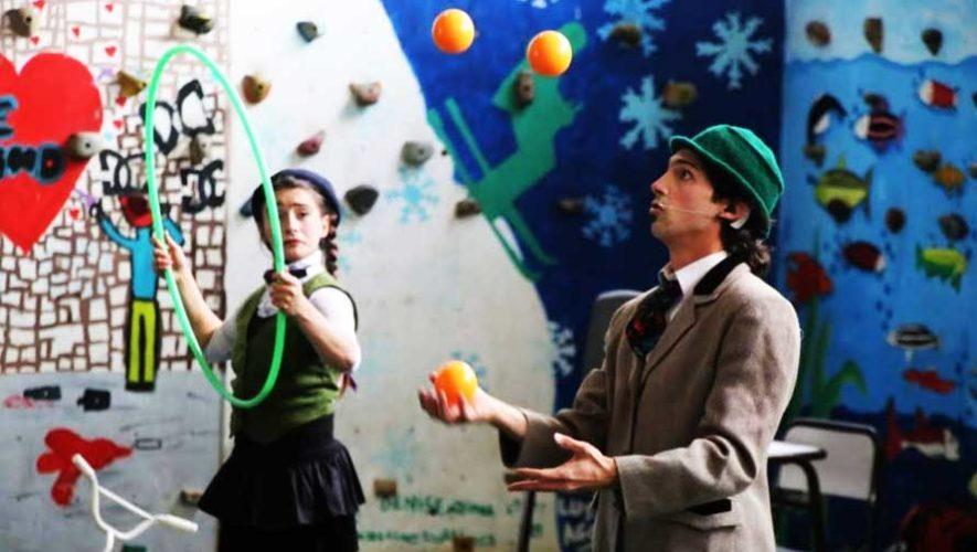 Festival gratuito de circo en Zona 14 | Marzo 2019