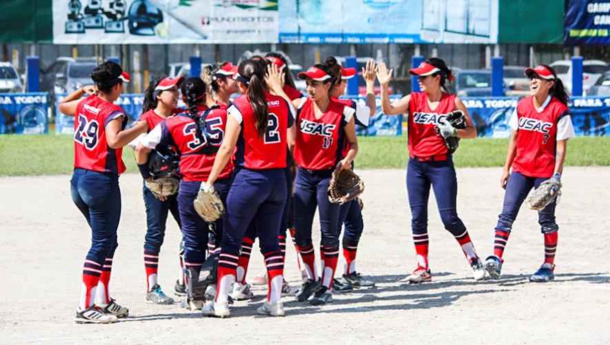 Final Lanquetín vs. Usac, primera fase del Campeonato de Sóftbol Femenino   Marzo 2019