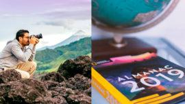 Fotografía de Volcán de Fuego forma parte del calendario 2019 de National Geographic