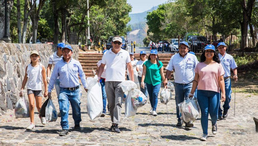 Gran limpiatón global en Antigua Guatemala | Marzo 2019