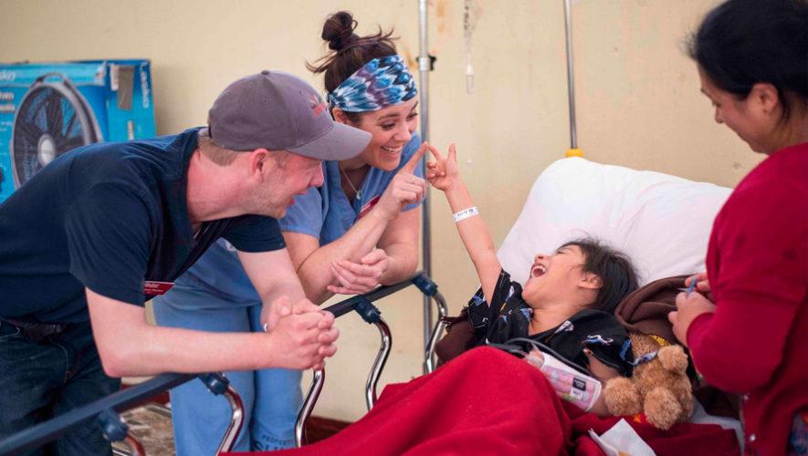 Jornada médica gratuita para niños y adultos en Baja Verapaz en abril de 2019