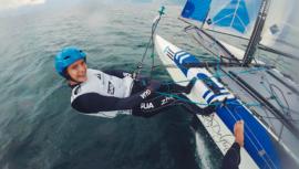 Katya Castellanos se une al velero que apunta a los Juegos Olímpicos de Tokio 2020