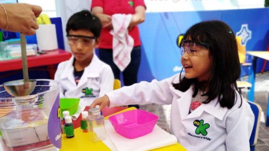 Laboratorio científico para niños en Ciudad Cayalá | Marzo 2019
