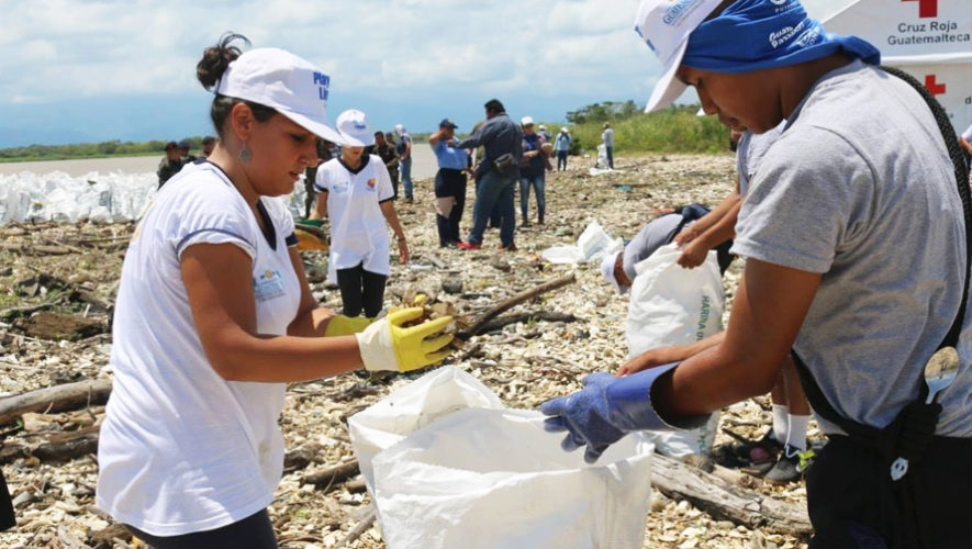 Limpiatón ecológico en Santa Catarina Pinula | Marzo 2019
