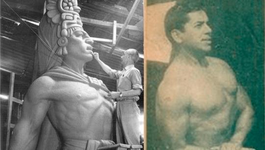Marco Tulio Ruano, el guatemalteco que inspiró la escultura de Tecún Umán