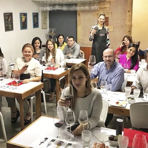 Módulo de Introducción en la Escuela de Vinos Corchos | Abril 2019
