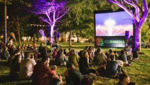 Noche de cine al aire libre en la Alianza Francesa, Ciudad de Guatemala | Marzo 2019