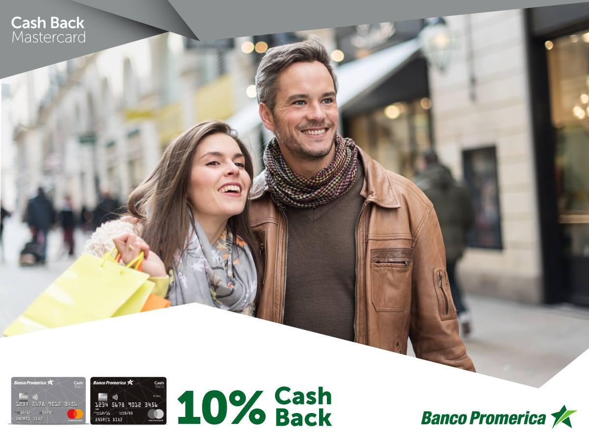 Nueva tarjeta de crédito Cash Back Mastercard está disponible en Banco Promerica