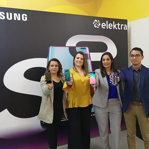 Nuevo Samsung Galaxy S10 disponible en Elektra Guatemala