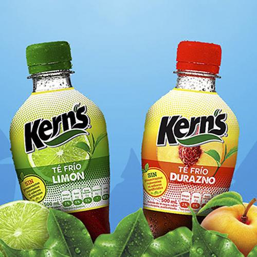 Nuevo Té Frío de Kern's para refrescar a los guatemaltecos este verano