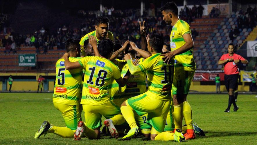 Partido de Chiantla y Guastatoya por el Torneo Clausura | Abril 2019