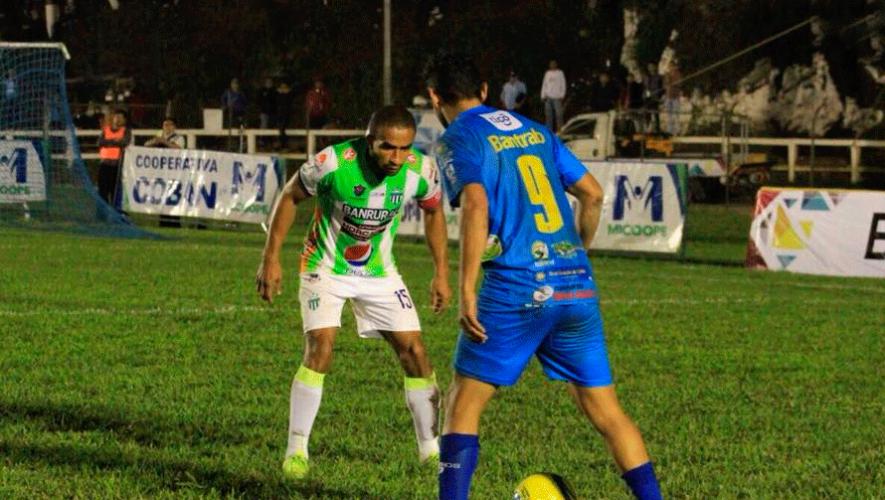 Partido de Cobán y Antigua por el Torneo Clausura | Abril 2019