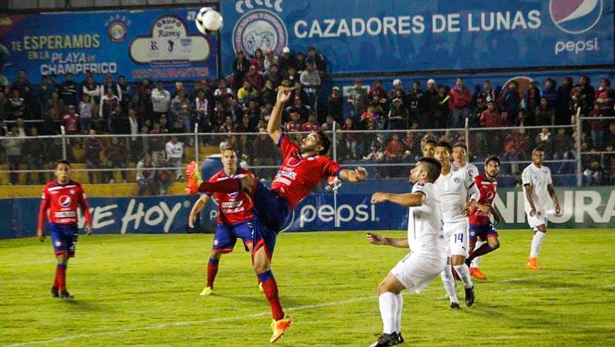 Partido de Xelajú y Comunicaciones por el Torneo Clausura | Marzo 2019