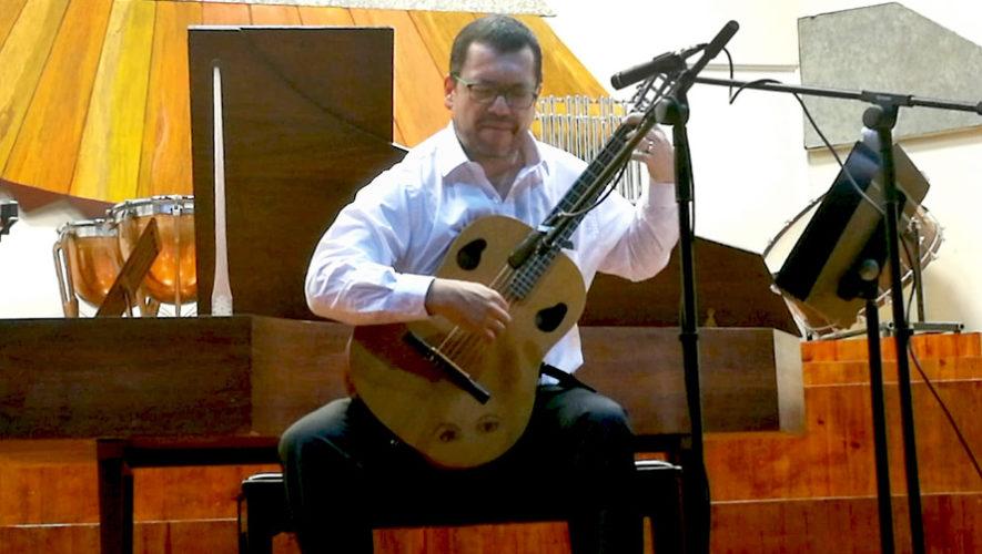 Recital de guitarra gratuito en el Conservatorio Nacional | Marzo 2019