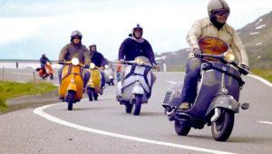 Recorrido en scooter hacia la Laguna del Pino   Marzo 2019
