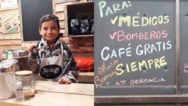 Restaurante en Chiquimula regala café a médicos y bomberos