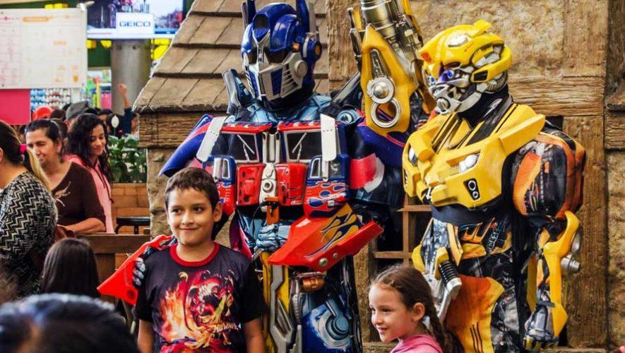 Show de Transformers en The Shops At Muxbal | Marzo 2019