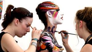 Shows artísticos y body painting en La Casona | Marzo 2019