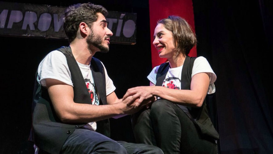Taller de improvisación teatral en Antigua Guatemala | Marzo 2019