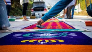 Taller gratuito para elaborar alfombras de Semana Santa | Marzo 2019