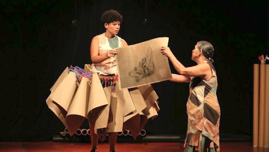 Teatro con artistas de El Salvador en Antigua Guatemala | Abril 2019