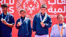 Abu Dhabi 2019: Tenis de Guatemala consiguió oro de los Juegos Mundiales de Olimpiadas Especiales