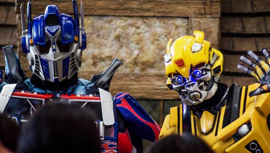 (Foto: Show de Transformers Guate)