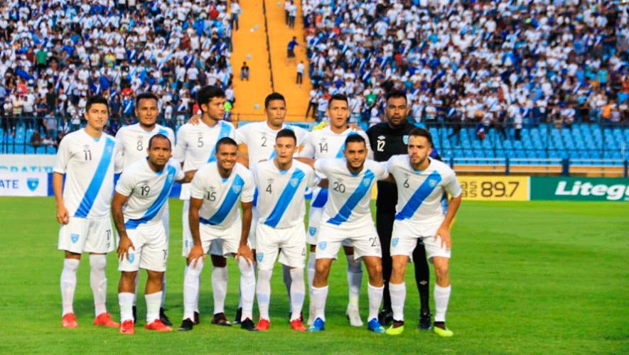 Transmisión en vivo del partido Guatemala vs. El Salvador, marzo 2019