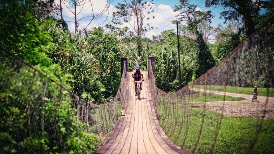 Travesía en bicicleta de Río Dulce a Punta de Palma | Marzo 2018