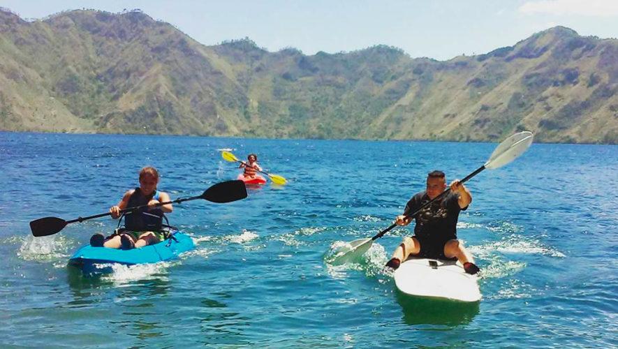 Viaje para practicar kayaking en la Laguna de Ayarza | Abril 2019
