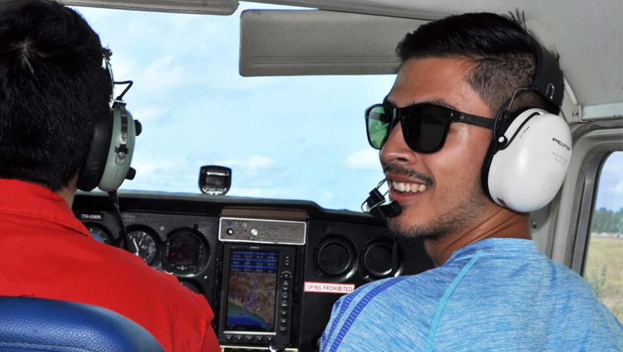 Vuelo panorámico en avioneta por la Ciudad de Guatemala   Abril 2019