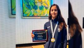 Yuliena Pedroza es la mejor atleta del Dominican Republic Open G1 2019