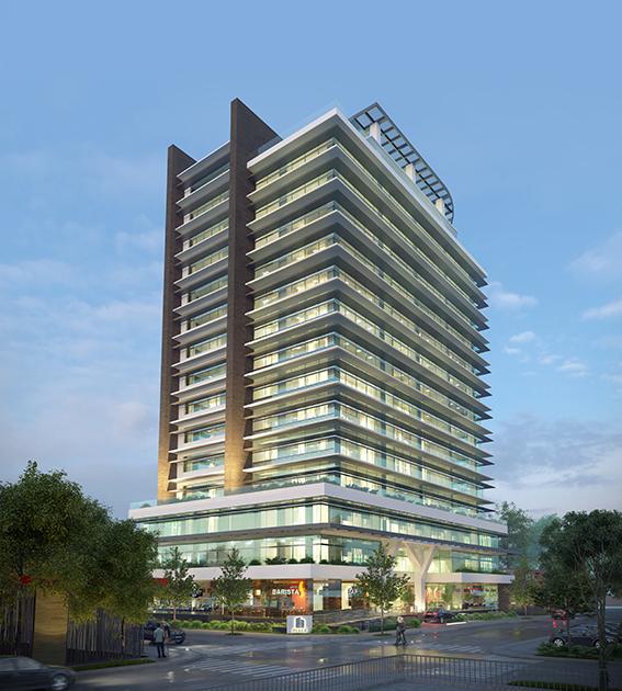 complejo de oficinas contemporáneas, sostenibles y tecnológicas en la Ciudad de Guatemala