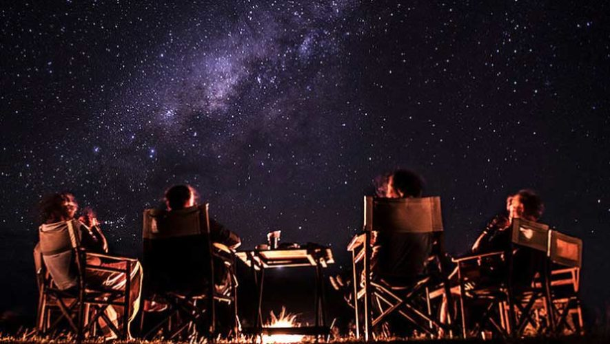 Noche de observación de estrellas y fogata en Chimaltenango | Marzo 2019