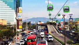 Recorrido del Aerometro que conectará Mixco y la Ciudad de Guatemala