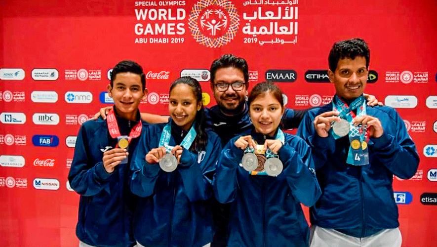 Abu Dhabi 2019: Resultados de Guatemala en los Juegos Mundiales de Olimpiadas Especiales
