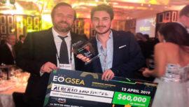 Alberto Soto Benítez ganó segundo lugar en concurso mundial de emprendedores en China