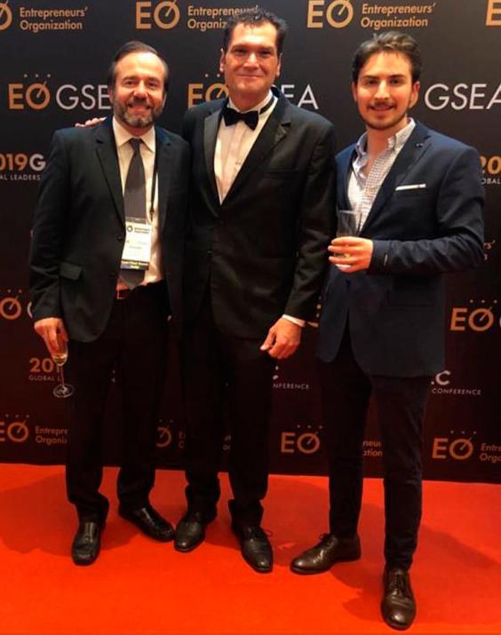 Alberto Soto Benítez ganó segundo lugar en concurso mundial de emprendedores