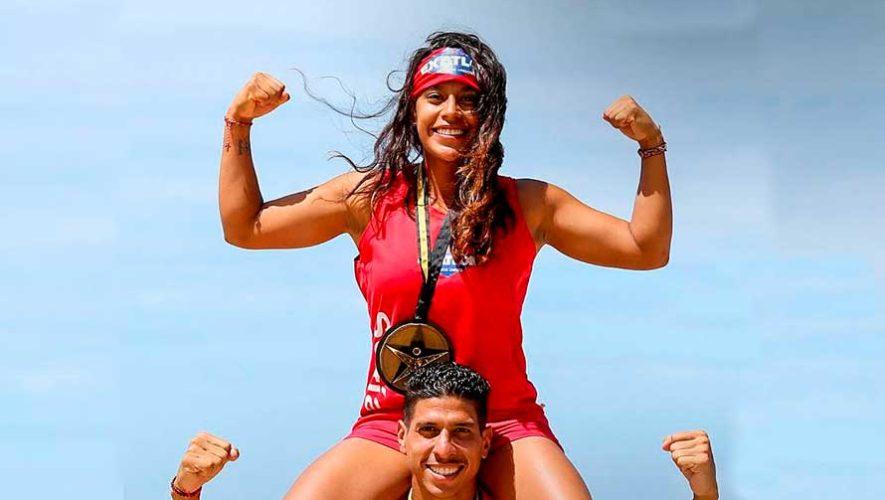 Ana Sofía Gómez, la primera concursante en ganar 4 medallas en Exatlón Estados Unidos 2019