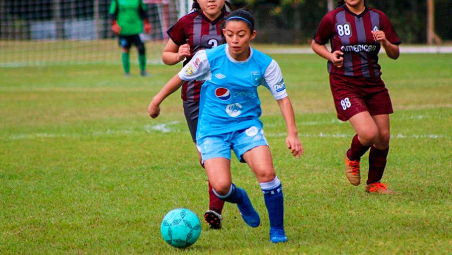 Calendario de Guatemala para el Torneo Femenino U-16 de UNCAF El Salvador 2019