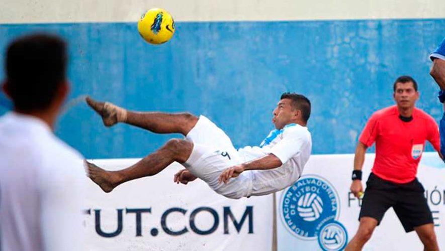Calendario y grupo de Guatemala para el Campeonato Concacaf de Playa 2019
