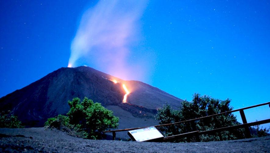 Campamento nocturno en las faldas del volcán de Pacaya | Mayo 2019