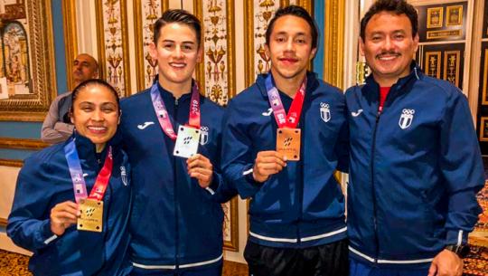 Cheili González se colgó la medalla de oro en el US Open 2019