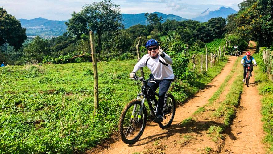 Colazo urbano en bicicleta en San Lucas Sacatepéquez | Abril 2019