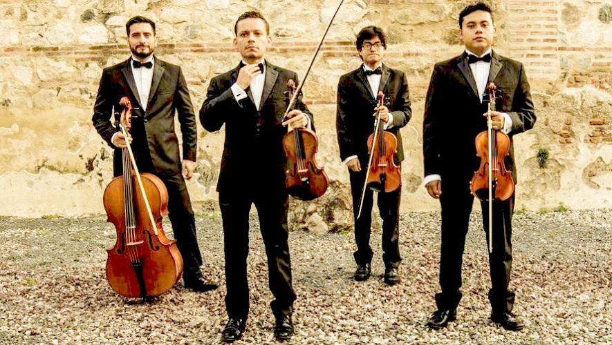 Concierto del Cuarteto Asturias en la Ciudad de Guatemala | Mayo 2019