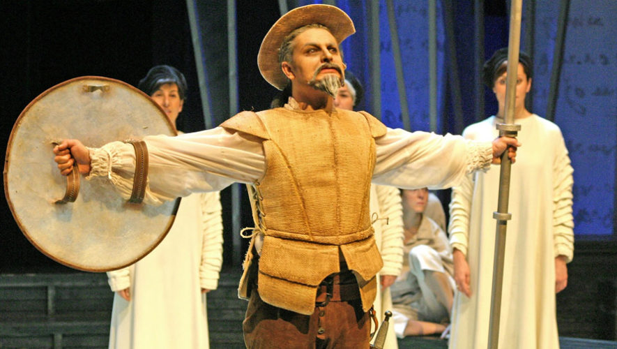 Don Quijote de la Mancha, obra de teatro en Guatemala | Abril - Mayo 2019